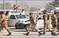 پاکستان رینجرز سندھ نے 9 ملزمان کو گرفتار کرلیا، اسلحہ و منشیات برآمد