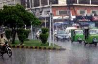 آئندہ ہفتے سے ملک بھر میں مون سون کی بارشوں کا آغاز ہوجائے گا-محکمہ ..
