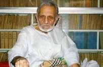 اشفاق احمد کی 92ویں سالگرہ منائی گئی