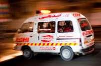 تحریک انصاف کے کارکنوں کی بس کو حادثے میں چار افراد زخمی