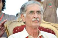 عمران خان کا قبل ازوقت انتخابات کا مطالبہ درست ہے،پرویز خٹک