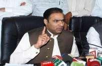 وزیر مملکت عابد شیر علی (کل ) حیدرآباد میں کھلی کچہری لگائیں گے