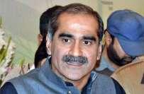 وزیر ریلویز خواجہ سعد رفیق سے ایران کے وزیر ٹرانسپورٹ عباس آخوندی ..