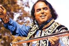 مقبول ترین فوک گلوکار عالم لوہار کی 38 ویں برسی پرسوں منائی جائیگی