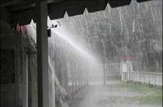 بارش کی وجہ سے تھوتھال روڈ بہہ جانے سے راستہ بند' شہریوں کو شدید پریشانی ..