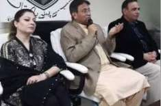 Pervez musharaf addresses party workers in dubai today