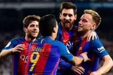 اسپینش لیگ،اعصاب شکن مقابلے کے بعد بارسلونا نے ریال میڈرڈ کو3-2سے شکست ..