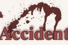 مظفرآباد سے با غ جاتے ہوئے سدھن گلی کے مقام پر وین حادثہ ،ْ جِس کے نتیجے ..