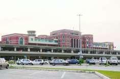 لاہور ایئرپورٹ پر 8 پروازیں منسوخ ،متعدد تاخیر کا شکار