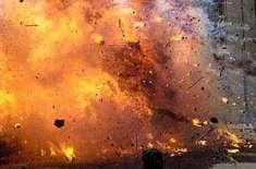 پشاور کے علاقے شریف آباد میں دھماکے ہونے کی اطلاعات