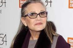 ہالی وڈ کی معروف اداکارہ کیری فشر کا 50 ملین ڈالر کا انشورنس کلیم ادا ..
