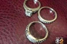 دوماہ کے دوران  خاکروبوں نے دوسری بار کوڑے کے ڈھیر سے شادی کی انگوٹھیاں ..