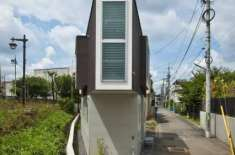 جاپان کا یہ چھوٹا نظر آنے والا گھر اندر سے بہت کشادہ ہے