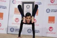 13 سالہ فلسطینی سپائیڈر بوائے نے نیا ورلڈ ریکارڈ بنا لیا