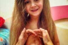 7سالہ روسی بچی کا دل اس کے سینے کے اندر نہیں بلکہ باہر دھڑکتا ہے