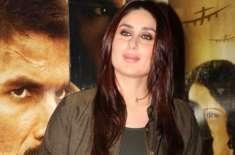 کرینہ کپور شوہر کی فلم ''رنگون'' کیلئے میدان میں کود پڑیں