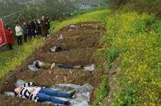ذہنی دباؤ کی شکار خواتین قبروں میں لیٹ کر زندگی کی طرف لوٹ رہی ہیں