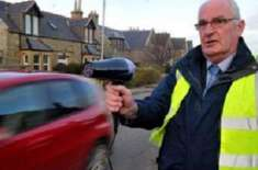 سکاٹ لینڈ میں لوگوں نے تیز رفتار ڈرائیوروں کو روکنے کے لیے ہیئر ڈرائیر ..