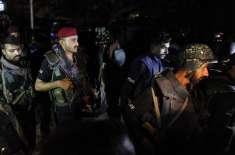 پنجگور کے علاقے گواران میں پولیس قافلے پر راکٹوں سے حملہ