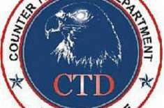ساہیوال واقعہ،سی ٹی ڈی کا دہشتگردوں کیخلاف آپریشن کا مقدمہ درج