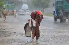 ملک بھر سمیت آزادکشمیر کے دارلحکومت مظفرآباد میں بارش کاسلسلہ بھی ..