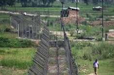 لائن آف کنٹرول کے ساتھ چھری کوٹ سیکٹر میں بھارتی فوج کی بلااشتعال ..