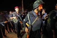 پشاور کے علاقے تہکال میں پولیس پارٹی پر دہشت گردوں کا حملہ