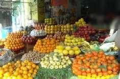 وزیراعلی کا پھلوں کو رنگ کرکے فروخت کرنے کے معاملے کا سخت نوٹس