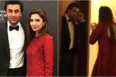ماہرہ خان اور رنبیر کپور کی ویڈیو کے سوشل میڈیا پر چرچے
