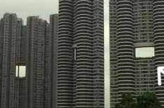 ہانگ کانگ کی عمارتوں  کے بیچ  خالی جگہ کیوں ہوتی ہے؟