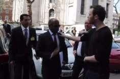 سعودی جنرل پر انڈے کے حملے پر برطانیہ نے معذرت کرلی