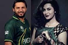 شاہد آفریدی سے پیار کرتی ہوں اور ہمیشہ کرتی رہوں گی: عرشی خان