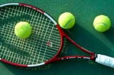 صبح نو نیشنل ہارڈ کورٹ ٹینس چیمپین شپ کا پہلا روز بارش کی نذر ہو گیا