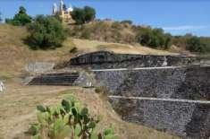 میکسیکو میں واقع دنیا کا سب سے بڑا چولولا کا عظیم اہرام