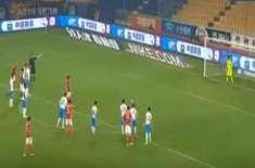 چائنیز فٹبال لیگ، گوانگ ڑو نے تیانجن کلب کو 3-0 سے ہرا دیا