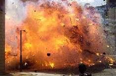 پشاور کے علاقے حیات آباد میں دستی بم حملہ