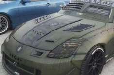 دوبئی کار شو میں ایس ایس جی  کی خصوصی  کنورٹڈ گاڑی کے چرچے