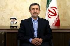 ڈونلڈ ٹرمپ خطرناک  صدرنہیں:احمدی نژ اد