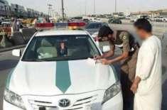 سعودی شہری کو ٹریفک اہلکار کی موت پر خوشی کا اظہار کرنے پر گرفتارلیا ..