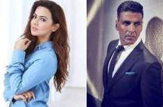 اکشے کمار کے ساتھ کام کر کے بہت اچھا لگا، ثناء خان