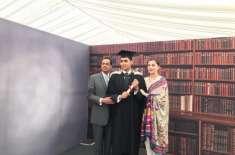 ڈاکٹر شاہد مسعود نے مریم نواز اور کیپٹن صفدر کی اپنے صاحبزادے کے ہمراہ ..