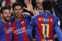 انٹرنیشنل چیمپئنز کپ: بارسلونا نے مانچسٹر یونائیٹڈ کو ایک صفر سے ہرا ..