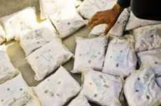 اے این ایف کی ملک گیر کارروائی، 3 ارب 96 کروڑ3 لاکھ روپے مالیت کی 3.395ٹن ..