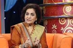 اپنے ڈراموں کے ذریعے اردو زبان کی خدمت کی ہے'ڈرامہ نگار حسینہ معین