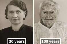 تب اور اب۔ ڈھلتی عمر چہرے کو کیا سے کیا کر دیتی ہے