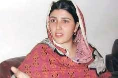 عائشہ گلالئی کی پارٹی رکنیت معطل،شوکاز نوٹس جاری