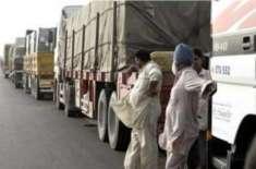 غیر ملکی ٹرک ڈرائیوروں پر پابندی سے ماہانہ 200ملین ریال کا نقصان ہوگا