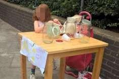 5 سالہ برطانوی بچی کو لیموں کر شربت فروخت کرنے پر جرمانہ