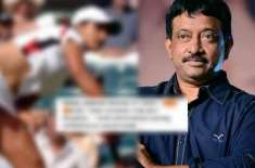 رام گوپال ورما کو ٹینس سٹار ثانیہ کی نامناسب تصویر شیئرکرنا مہنگا پڑگیا ..