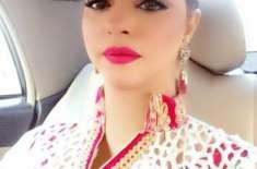 اداکارہ مدیحہ شاہ والدہ کی تیمار داری میں مصروف